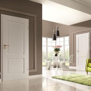 Białe pełne drzwi Cordoba Porta, fot. Porta.