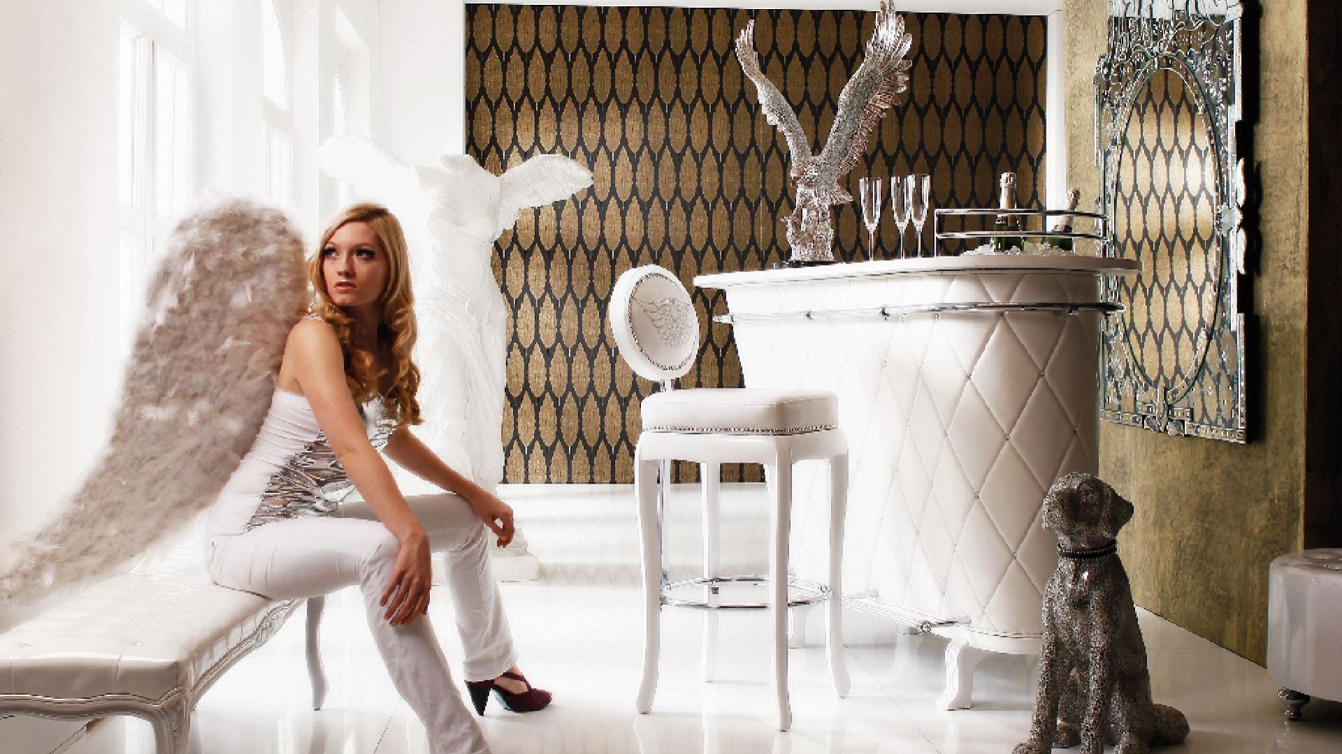 Aranżacja w stylu glamour. Fot. Kare Design.