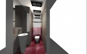 Kolorowa łazienka 2.