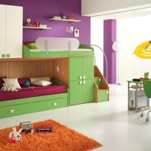 Pomysł na kolorowy pokój dla przedszkolaków. Fot. Spar.it.
