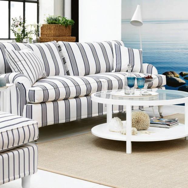 Meble w paski. Zobacz kanapy i fotele w modne wzory