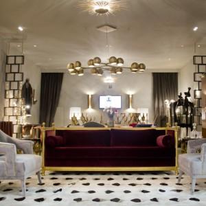 Modelowy salon prezentowany na tegorocznej imprezie Isaloni. Fot. Brabbu.