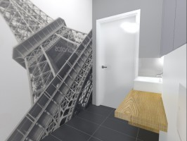 Mieszkanie w Warszawie, łazienka.