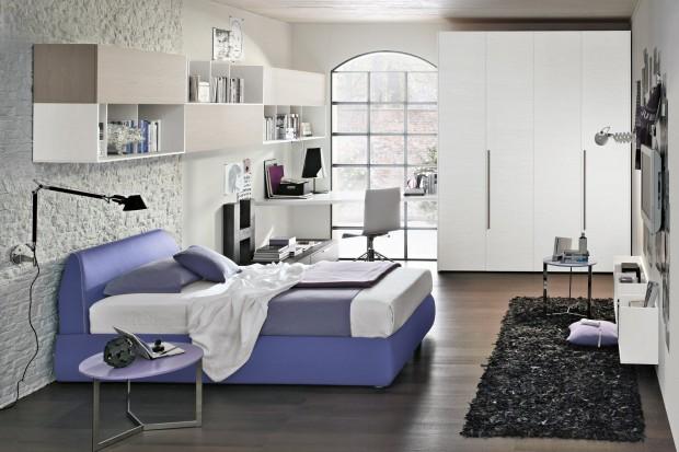Modny, kolorowy, wyjątkowy pokój dla nastolatki