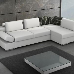 Wysoki komfort skórzanego siedziska Castello marki Caya Design zapewnia system sprężyn i wysokoelastycznych pianek HR oraz wzmocnienia z elastycznych pasów. Fot. Caya Design.