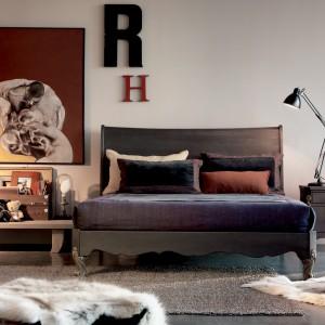 Stylowe łóżko Milano NM 307 z kolekcji Romantica. Fot. Marchetti