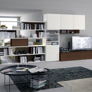 Biało-brązowa propozycja do nowoczesnego wnętrza. Fot. Colombini Casa.