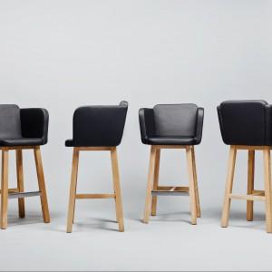 Krzesła z kolekcji Comforty. Proj. Tomek Rygalik Studio. Fot. Comforty,