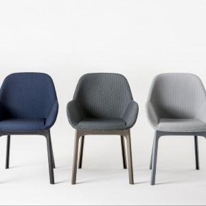 Krzesło Clap zaprojektowała dla marki Kartell Patricia Urquiola. Fot. Kartell.