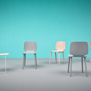 Marka Pedrali słynie m.in z szerokiej oferty krzeseł. Na zdjęciu model Babila. Fot. Pedrali.