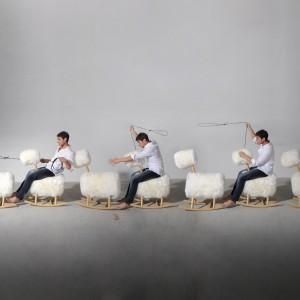 Zabawne siedziska HiHo to nowość brytyjskiej marki Innermost. Fot. Innermost.
