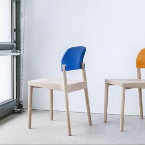 Marka Paged zaprezentowała m.in. krzesła K1, projekto nowego dyrektora artystycznego Pagedu, Tomka Rygalika. Fot. Paged.