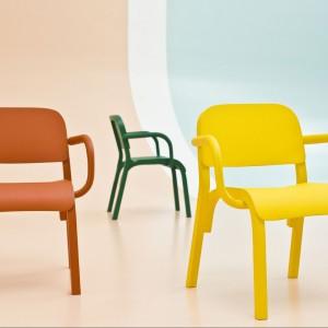 Krzesło Dumbo zaprojektował dla marki Moroso Tomek Rygalik. Fot. Moroso.