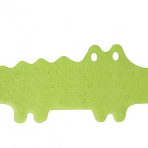 Zabawna gumowa mata do wanny zmniejsza ryzyko, że dziecko się poślizgnie i zrobi sobie krzywdę, 90x33 cm. 19,99 zł, IKEA.