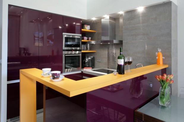 Kuchnia w kolorze. Postaw na modny fiolet