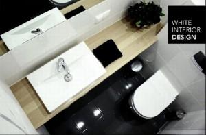 Projekt domu jednorodzinnego - łazienka.
