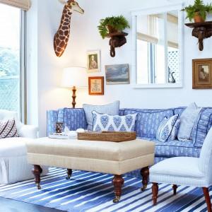 Wykorzystując błękit można stworzyć niebiańsko romantyczny wystrój. Fot. Cococozy.