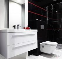 Łazienka dla gości.