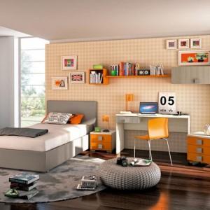 W pokoju dziecka musi znaleźć się miejsce do nauki , wypoczynku i oczywiście przestrzeń do zabawy. Fot. Colombini Casa.