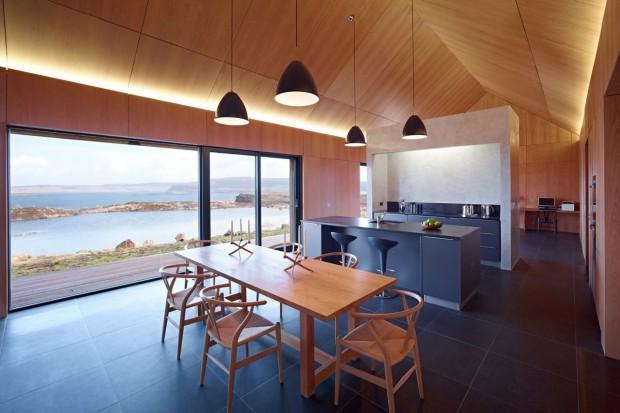 Niezwykły projekt domu na szkockiej wyspie Skye