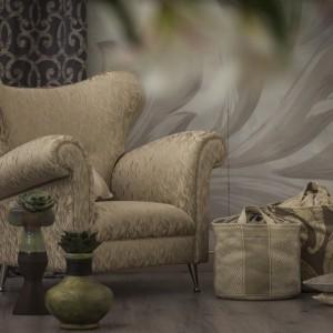 Połączenie dekoracyjnej formy i ozdobnej tapicerki. Fot. Decobel.