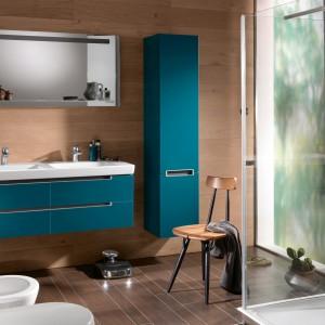Kolekcja mebli łazienkowych dedykowana do małych pomieszczeń Subway. Fot. Villeroy&Boch.