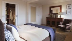 Sypialnia - dom w Strzegomiu.