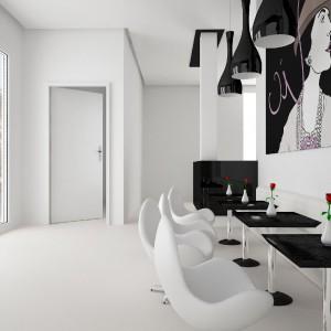 Drzwi Wenus - przylgowe, drewniane, o zwiększonej izolacji akustycznej. Fot. Interdoor.