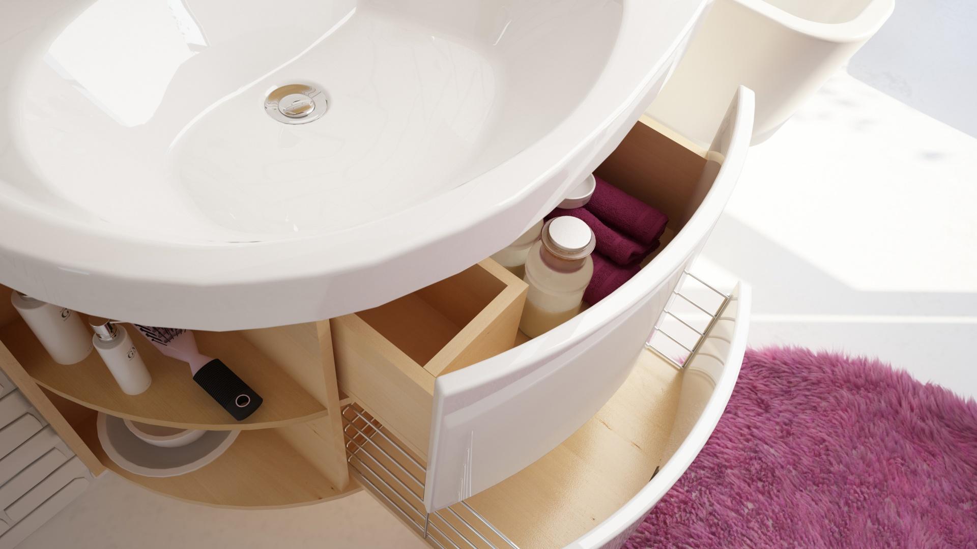 Szuflada Sprawdzony Sposób Na Przechowywanie W Małej łazience