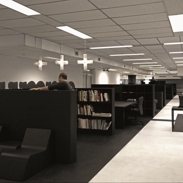 Biuro z odzysku. Recycle Office w Amsterdamie