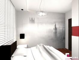 Mieszkanie w Warszawie - sypialnia.