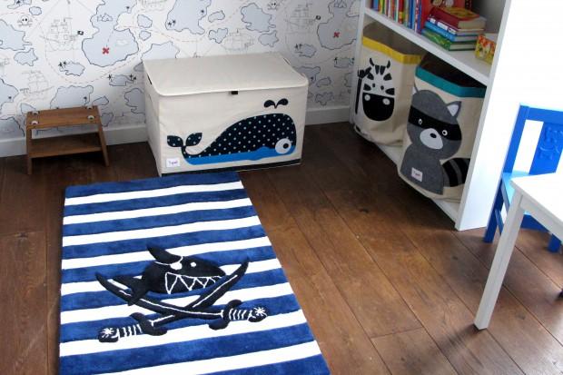 Marynarski pokój dla chłopca. Tak można go urządzić