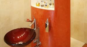 Skromne pod względem wyposażenia, urządzone z zamierzonym chłodem wnętrze zaskakuje pomysłową aranżacją oraz odwagą przejawiającą się w doborze koloru.