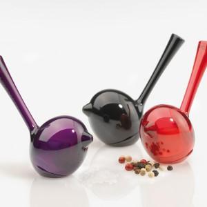 Kolekcja PiP to także zabawne pojemniki do soli i pieprzu. Fot. Koziol.