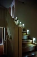 Projekt wnętrz angielskiej klatki schodowej, dom jednorodzinny Konstancin - Jeziorna, architekt wnętrz Marta Dalecka.