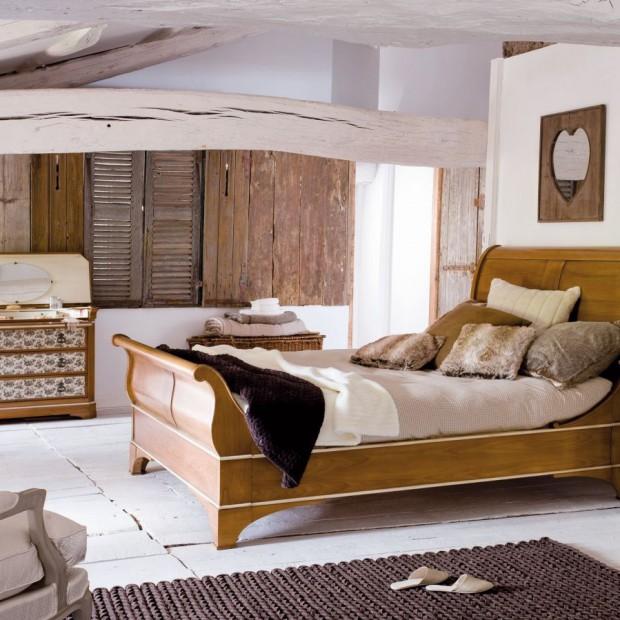Wybieramy kolor ścian. Sypialnia w brązach i beżach