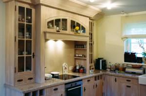 Projekt wnętrz kuchni angielskiej, dom jednorodzinny Konstancin - Jeziorna, architekt wnętrz Marta Dalecka.