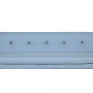 Sofa Otto w delikatnych, błękitnym odcieniu. Fot. Sits.