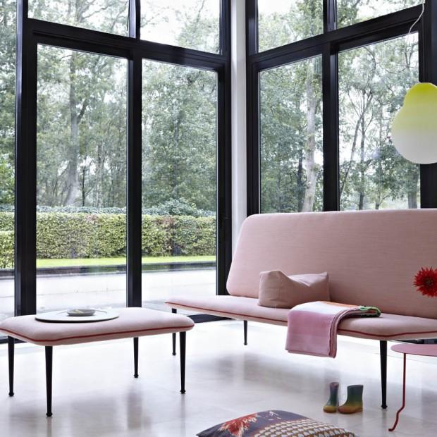 Sofy w pastelowych kolorach. 12 modnych propozycji