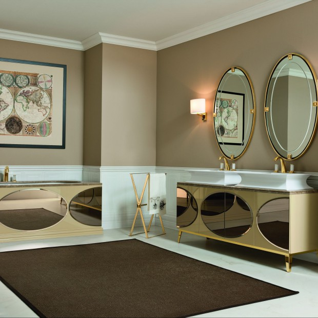 Łazienki w stylu art déco – stylowe, szykowne, bogate. 12 aranżacji