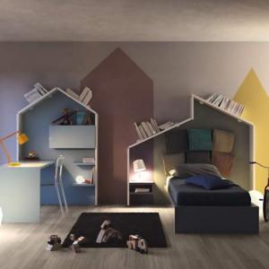 Oryginalny pokój dla nastolatka. Fot. Lago.