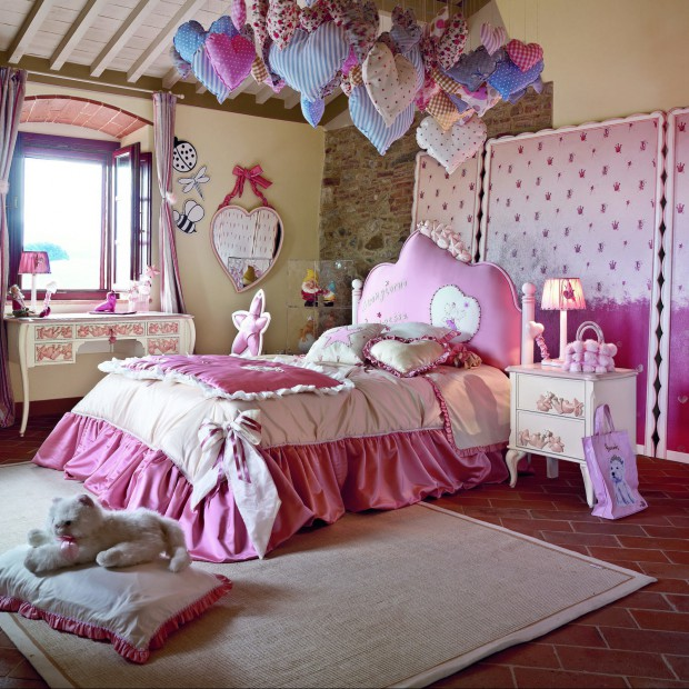 Pokój dla małej księżniczki. 10 pomysłów na piękne wnętrze