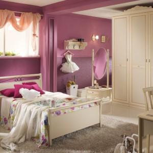 Idealne do pokoju księżniczki meble z kolekcji Magnolia włoskiej marki Spar. Fot. Spar.