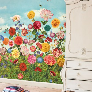 Kolekcja Wild Flowerland holenderskiej marki PiP Studio. Fot. PiP Studio.