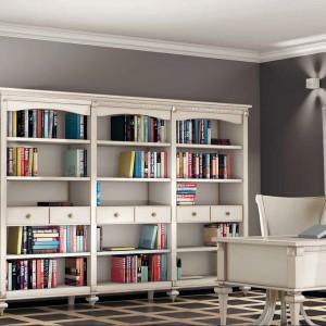 Kolekcja mebli Amarcord idealna do salonu i domowego biura. Fot. CP Italian Furniture.