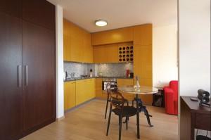 Kuchnia, mieszkanie w Warszawie.