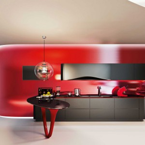 Kuchnia Ola 25 Edycja limitowana w czarnym kolorze to jeszcze bardziej ekskluzywna i wyrafinowana wersja kultowego modelu marki Snaidero, dedykowana klientom, którzy kochają zindywidualizowany styl kuchni. Fot. Snaidero.