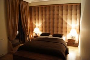 Apartament Szafiarnia - sypialnia.