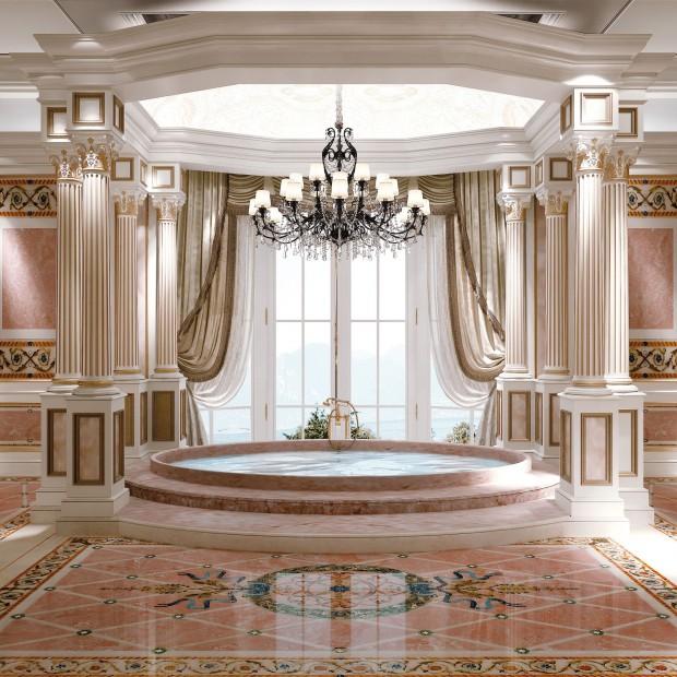 Marmury na ściany i podłogi. Zobacz 15 projektów znanych architektów