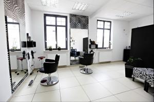 Salon fryzjerski.